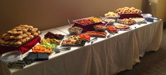 Entertaining 101: How to Set Up a Buffet Table - Decor Talk Blog