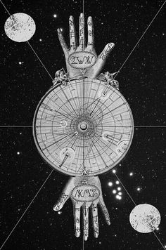 Count of St. Germain - Adaptation of the Wright's Celestial Map of the Universe, 1742