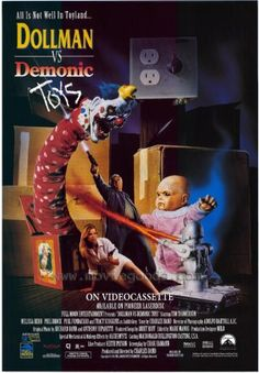Dollman vs. Demonic Toys aka Demonic Toys 2 movie vhs cover (1993)