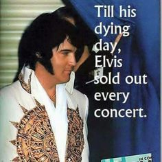 """""""I never expected to be anybody important."""" Elvis Quote"""