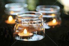 Hauska kierrätysidea vanhoille lasipurkeille kynttilälyhdyiksi! Tulitikkutehdas pinnaa!