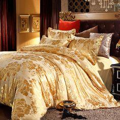 20 Fancy Golden Colored Bed Linens | Golden Boudoir | Pinterest | Golden  Color, Bed Linen And Linens
