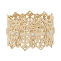 Grace Lee Gold Lace Crown Ring