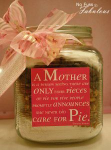 EASY AS CHOCOLATE CHIP PIE IN A JAR – MOTHER'S DAY GIFT & PRINTABLE