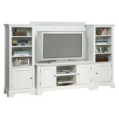 I have this Naples Entertainment Center and LOVE it.  You can get it too, from the Game Day Entertaining event at Joss and Main!