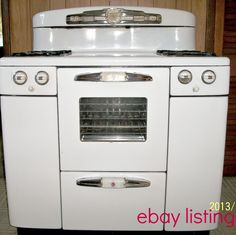 Vintage Looking Electric Stoves .
