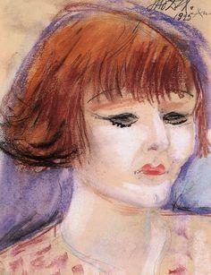Otto Dix, Portrait ofAnita Berber (pastel, 1925)