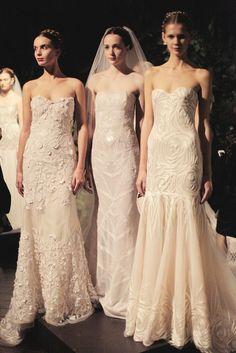 NAEEM KHAN BRIDAL FALL 2014 / Backstage / Wedding Style Inspiration / LANE