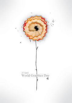 poster : world graphics day , design by : pouria oriany (Iran)