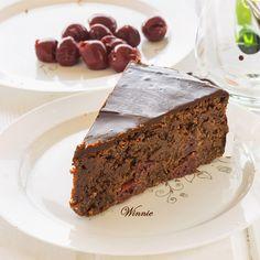 Cherry chocolate cake without flour »Something Sweet - Winnie Blog