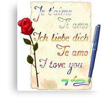 I love you, my love. #love #amor #amore #rose #rosa #pen #flags #bandiere #banderas #colors #lovers #flower #couple #fiore #sanvalentino #amour #Liebe #bags #totebag #print #apparel #gift #phonecases #accessories #tees #tshirts #t-shirt #hoodies #sweatshirts #clothes #clothings #borse #stampe #abbigliamento #regalo #accessori #tele #canottiere #magliette #maglie #maglietta #maglioni #felpe #vestiti #quadri #bolsos #ropa #regalos #accesorios #tazas #lienzos #camisetas #cuadros #sudaderas…