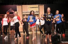 """WPXI visits Hampton High School as its students rehearse """"Legally Blonde."""""""