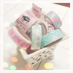 Pastel tapes for my planner by mamachu0330, via Flickr
