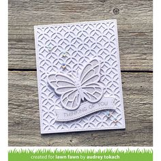 card butterfly butterflies Lawn Fawn , cover up backdrop die, banner label, Sneak Week Spring 2019 - Day 3 + Giveaway! Handmade Greetings, Greeting Cards Handmade, Butterfly Cards Handmade, Lawn Fawn Blog, Embossed Cards, Die Cut Cards, Beautiful Butterflies, Homemade Cards, Making Ideas