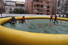 FEM FESTA 2016 - Karts ecològics a pedals - Activitats de la jornada Fem Festa 2015/16 Escola Pia Balmes