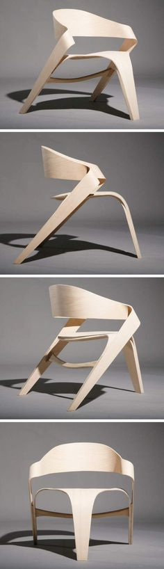 The Copenhagen Chair by Alvaro Uribe