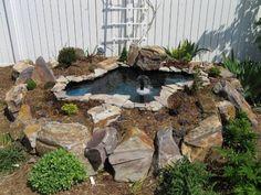 How to Build a raised pond. Backyard Gardening blog