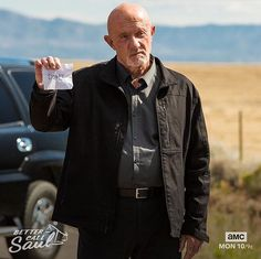 Mike Ehrmantraut Breaking Bad Funny, Jonathan Banks, Saul Goodman, First Blood, Call Saul, French Films, Film Serie, Funny Wallpapers, Best Tv
