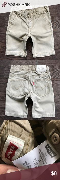 Boys Levi's tan shorts 2T The shorts are in great condition levis Bottoms Shorts