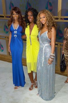 Even in 2005, Beyonce knew how to rock a sparkly gown.
