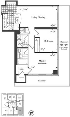 1000 images about condo layouts on pinterest bedroom for Small condo plans