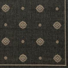 Navarre Indoor/Outdoor Rug - Gray - Ballard Designs