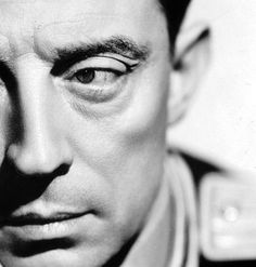 Buster Keaton... Full face... Not half good. Nor talent, or looks....