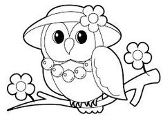 cute sweetheart owl coloring page for kiddos at my origami owl - Print Pictures To Color