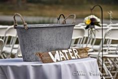 Wedding ideas Great for country outdoor weddings! anyone thirsty? by carmen