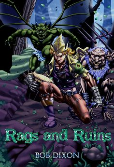 Rags leads an idyllic life for a goblin child—he spends his days playing in the landfill with his gargoyle friend Ladin, going fishing with his father Hargo in the river, and developing his love of music.