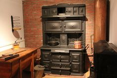 Spicer's & Peckham's Coal Cook Stove | Flickr - Photo Sharing!