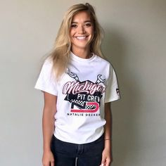 Natalie Decker in her Michigan Shirt