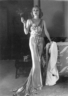 I love the look of this outfit. Constance Bennett