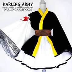 Natsu Dragneel Fairy Tail Cosplay Kimono Dress Wa Lolita | Darling Army - COSPLAY IS BAEEE!!! Tap the pin now to grab yourself some BAE Cosplay leggings and shirts! From super hero fitness leggings, super hero fitness shirts, and so much more that wil make you say YASSS!!!