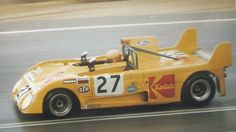 René Ligonnet at Le Mans 1972. Kodak Lola T290. The first Lola with no DNF at Le Mans ever. AUTO 1/43