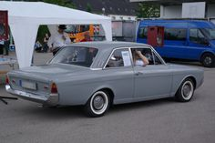 1965 - Ford Taunus 17 M - P5 - side rear