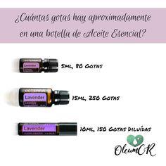 ¿Te preguntas cuántas gotas de aceite esencial hay en un frasco? Hoy te compartimos la respuesta. #OleumCostaRica #AceitesEsenciales #DoTerra #Salud #Bienestar #VidaSana