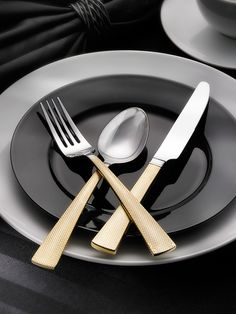 Argent Broadway Flatware Set (20 PC) by Hampton Forge at Gilt