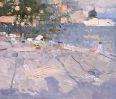 Bato Dugarzhapov  (1966 -)  Russian impressionist painter.     After discovering and sharing Eduard Manet's legacy and before returning to...
