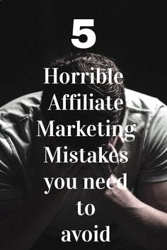 Avoidable Affiliate Marketing Mistakes Do you want to become a Super affiliate marketer?