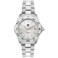 online shopping for TAG Heuer Men's Silver Aquaracer Watch from top store. See new offer for TAG Heuer Men's Silver Aquaracer Watch Pre Owned Watches, Watches For Men, Ladies Watches, Sport Watches, Stainless Steel Watch, Stainless Steel Bracelet, Luxury Watches, Rolex Watches, Stylish Watches