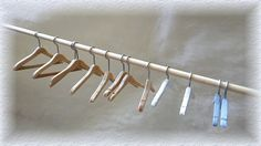 Tutorial - Wooden Doll Clothes Hangers.  Site is in Dutch you will need Google Translate.