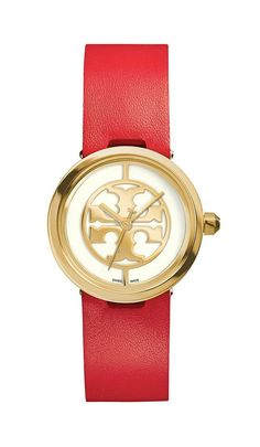 Valentine's Day Gifts: Tory Burch Red Reva Watch