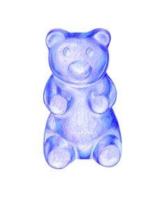 purple gummy bear by kendyll hillegas