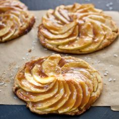 Salted Caramel Apple Tartlets Recipe « Go Bold with Butter