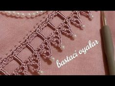 Knit Crochet, Diy And Crafts, Make It Yourself, Beads, Knitting, Lace, Blog, Allah, Scarves