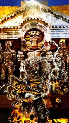 Eddie Iron Maiden Album Covers, Iron Maiden Albums, Bruce Dickinson, Heavy Metal, Iron Maiden Mascot, Eddie The Head, Iron Maiden Band, Where Eagles Dare, Tribute