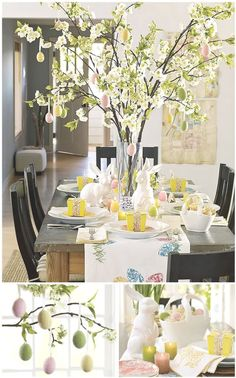 Cherry Blossom Branch Centerpiece