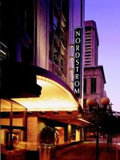 Nordstrom Flagship store in downtown Seattle ... lovely store, lovely family.