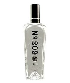 No. 209 Kosher-for-Passover Gin: This lightly spiced beverage—the only kosher for Passover gin in the world—features bergamot, bay leaves, lemon peel, and coriander seeds.